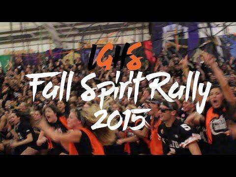 Los Gatos High School: Fall Spirit Rally 2015
