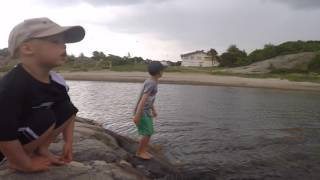 Krabbfiske åska