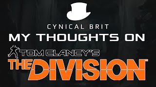TotalBiscuit's thoughts on Tom Clancy's The Division (Beta)