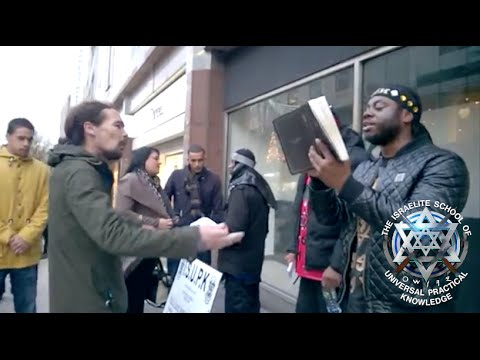 ENGLISH MAN in BIRMINGHAM UK THINKS HE IS BLACK & GETS HIS FEELINGS HURT - ISUPK HEBREW ISRAELITES