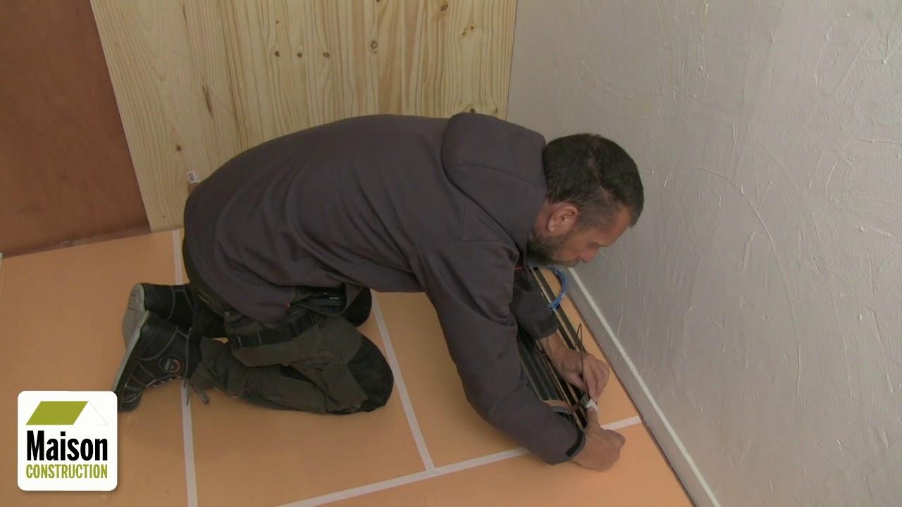 Comment installer le chauffage au sol sous du parquet flottant ?