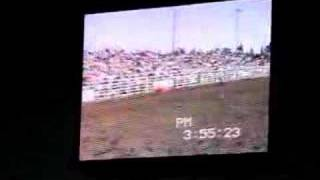 Lane Frost at Sisters Rodeo in 1988