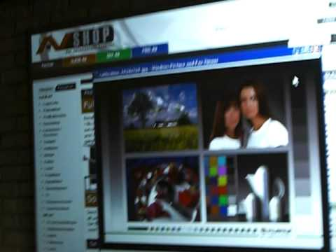 Projector screen samples 1