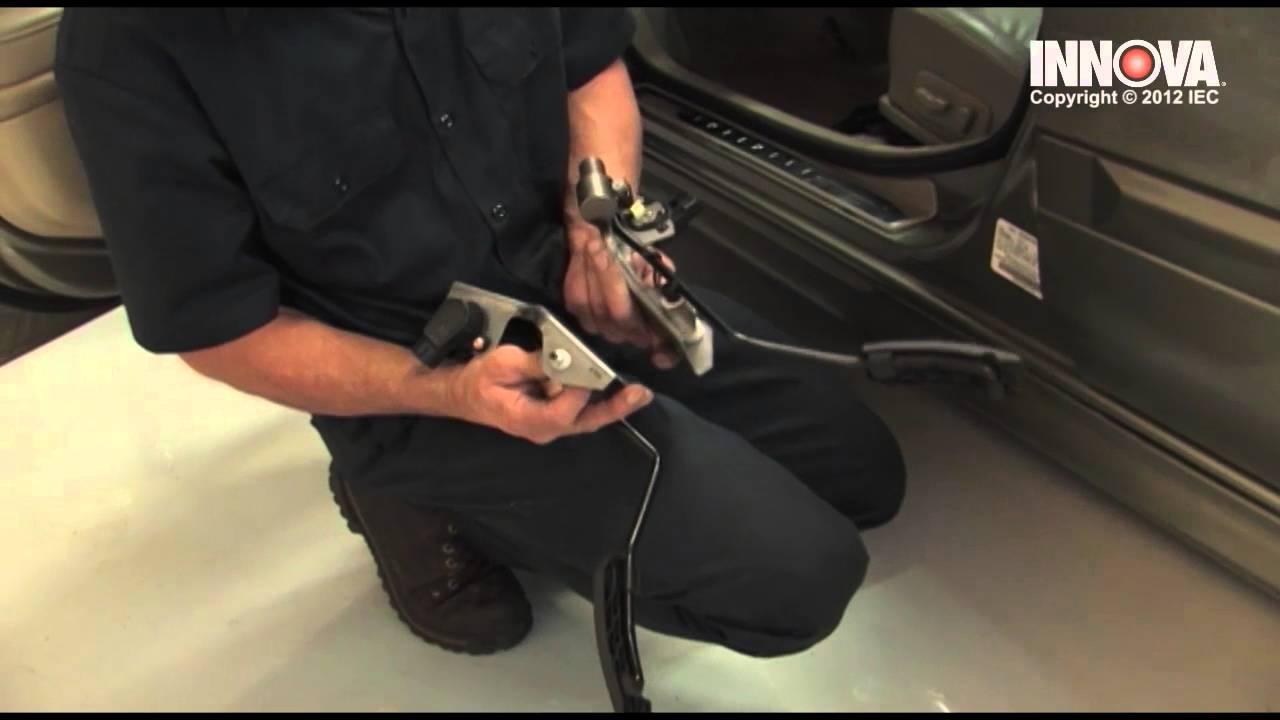 How to change Accelerator Pedal Position (APP) Sensor  2002 Infiniti I35  YouTube