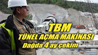 tbm tünel delme makinası