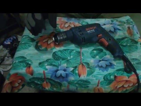 Видео обзор: Дрель безударная BOSCH GBM 10 RE