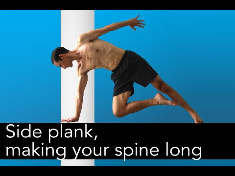 side plank variations for core, balance, hips, and shoulders