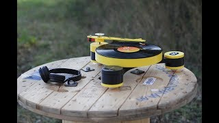 Lenco-MD: World's first modular 3D printed record player