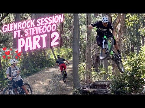 Riding Glenrock Mountain Bike Trails FT. Steveooo PART 2 | Jack Moir |