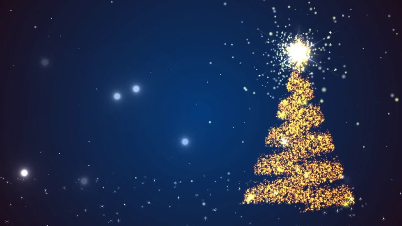 Merry christmas tree motion background free hd 1080p youtube - Free hd background images ...