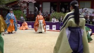 紅葉の名所として有名な談山神社ですが、春の新緑も美しい景色を楽しむ...