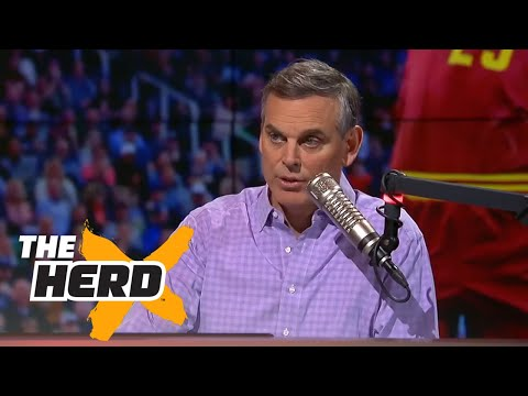 Colin reacts to LaVar Ball saying his sons are worth $1 billion shoe deal  | THE HERD