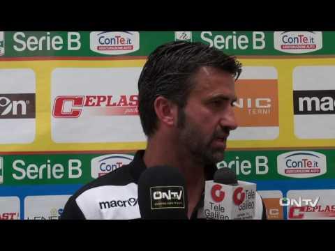 ONTV: intervista a Christian Panucci post Ternana-Pordenone (2-0)