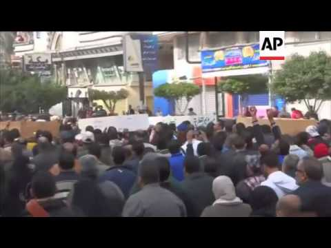 Cairo violence, funeral for Port Said victims, Suez Canal security
