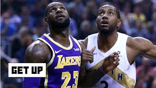 Kawhi is in play for the Lakers after the Anthony Davis trade - Damon Jones | Get Up