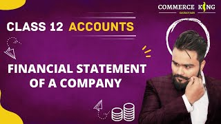 #126, Class 12 accounts ( Financial statements: Theory)