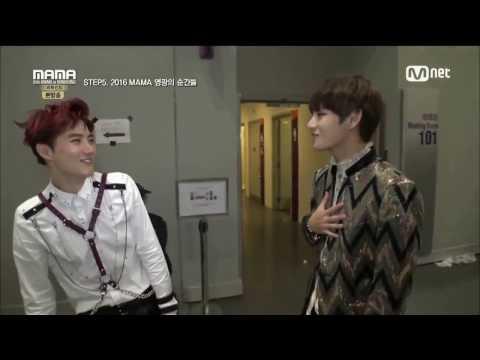 [161209] - MAMA Behind EXO 2 - EXO Suho and BTS V Taehyung