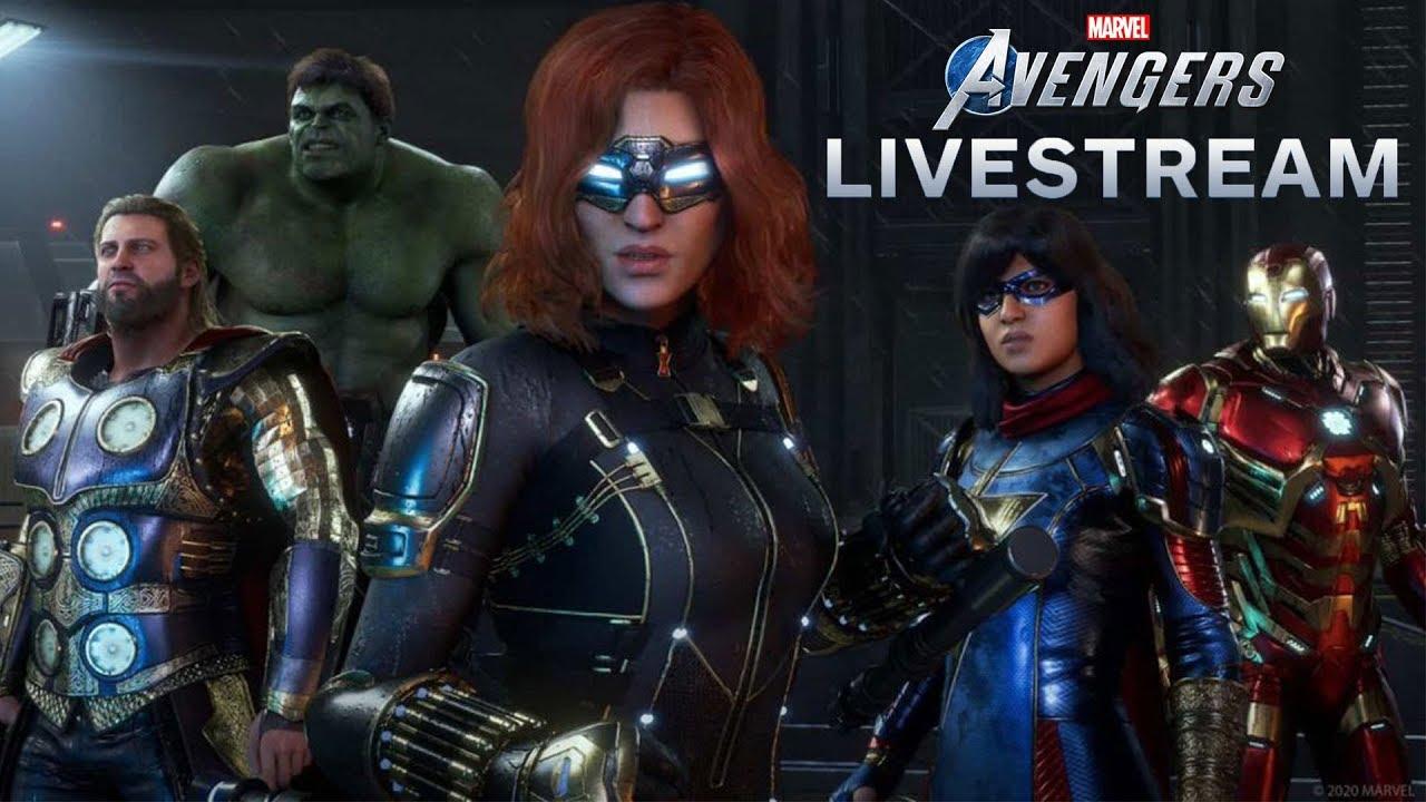 Marvel's Avengers War Table Livestream - YouTube