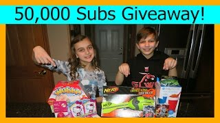 CELEBRATING 50,000 SUBSCRIBERS GIVEAWAY