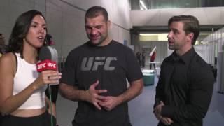 Fight Night Fortaleza: Shogun Rua Backstage Interview