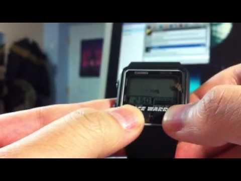 Casio Game Watch Space Warrior Demo Youtube