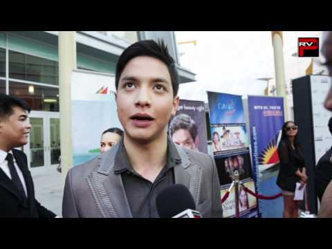 """Alden Richards interview at the US Premiere of Yam Laranas' """"The Road"""""""