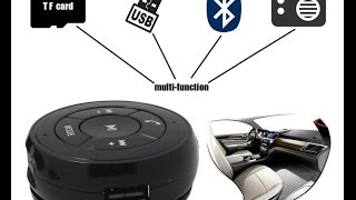 Bluetooth Music Receiver fm usb tf card phiateam pt-750 hands-free (блютус аудио ресивер)