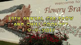 Flowery Branch Car Show and Chili Cook Off 9-9-2017