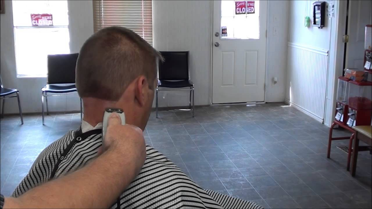 2 And 3 Buzz Police Officer Hair Cut Barber Style Youtube