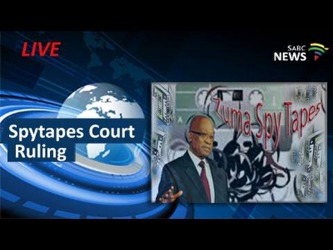Pretoria High court ruling on spytapes, 29 April 2016