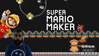 Mario Maker - Super Expert Highlights (Twitch Livestream 10/06/2016)