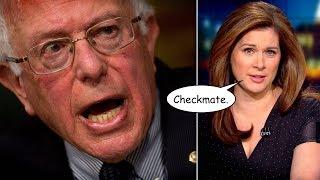 "Smug CNN Host Thinks She Checkmated ""Hypocrite"" Bernie Sanders Over His Taxes"