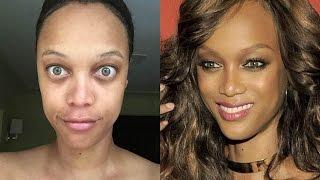 Famosas que son feisimas sin maquillaje