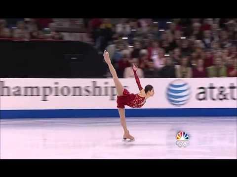 Sasha Cohen - Spiral Sequence (+2.71 GOE, 2010 U.S. Nationals)