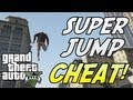 GTA 5: SUPER JUMP! Cheat Code TUTORIAL (Xbox 360, PS3)