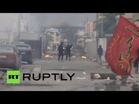 Clashes with police erupt in Bahrain after Saudi execution of Shiite cleric