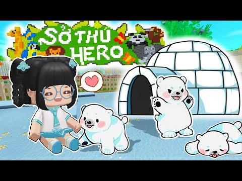 """Simmy Nâng Cấp Chuồng """"GẤU TUYẾT"""" Cho Sở Thú Trong Làng HeroTeam Của Mr Vịt from YouTube · Duration:  11 minutes 10 seconds"""