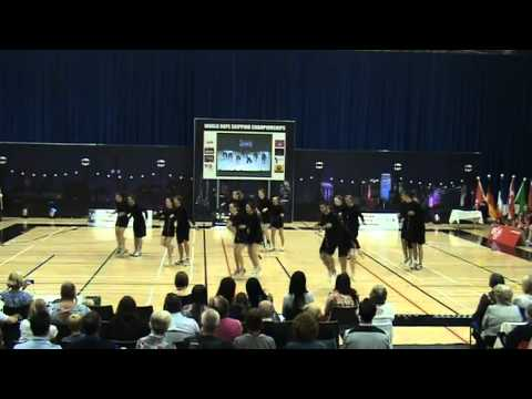 World Cup Team Show 2010 - Rope Skipping - Heartbeats and Friends