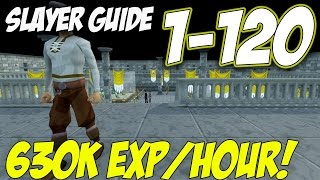Efficient and Realistic 1-120 Slayer Guide 2017 [OVER 630K AVERAGE SLAY XP/H] Runescape 3 Mp3