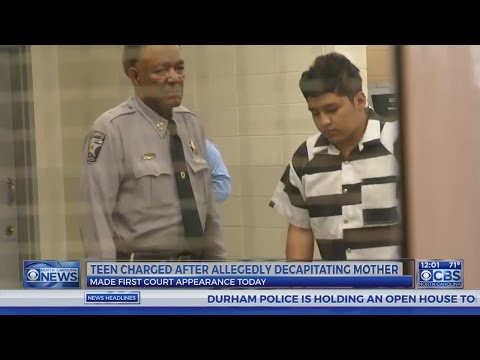Teen charged with murder after mother decapitated near Zebulon, officials say