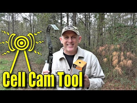 Cellular Trail Camera | More Bars!!! DIY Tool!