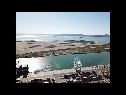 Beautiful Oakland port !