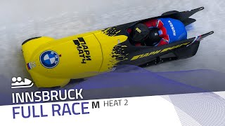 Innsbruck | BMW IBSF World Cup 2020/2021 - 2-Man Bobsleigh Race 1 (Heat 2) | IBSF Official