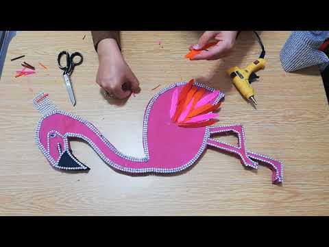 Harika Flamingo Led Işık Yapımı | Wonderful Flamingo Led Light Making ( Sizde Şaşıracaksınız !!!! )
