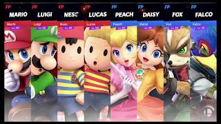Super Smash Bros Ultimate Amiibo Fights Request #740 Team Smackdown at Skyloft