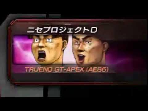 INITIAL D Itsuki Using takumi Blind Attack Technique agains Fake Project D (Dank Meme Inside)