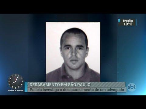Novo desaparecimento é registrado após desabamento de prédio em SP | SBT Brasil (15/05/18)