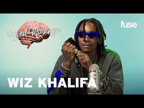 Wiz Khalifa Does ASMR & Talks Rolling Papers 2 | Mind Massage