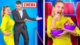 15 طريقة لتمرير سناكس جوا السينما!