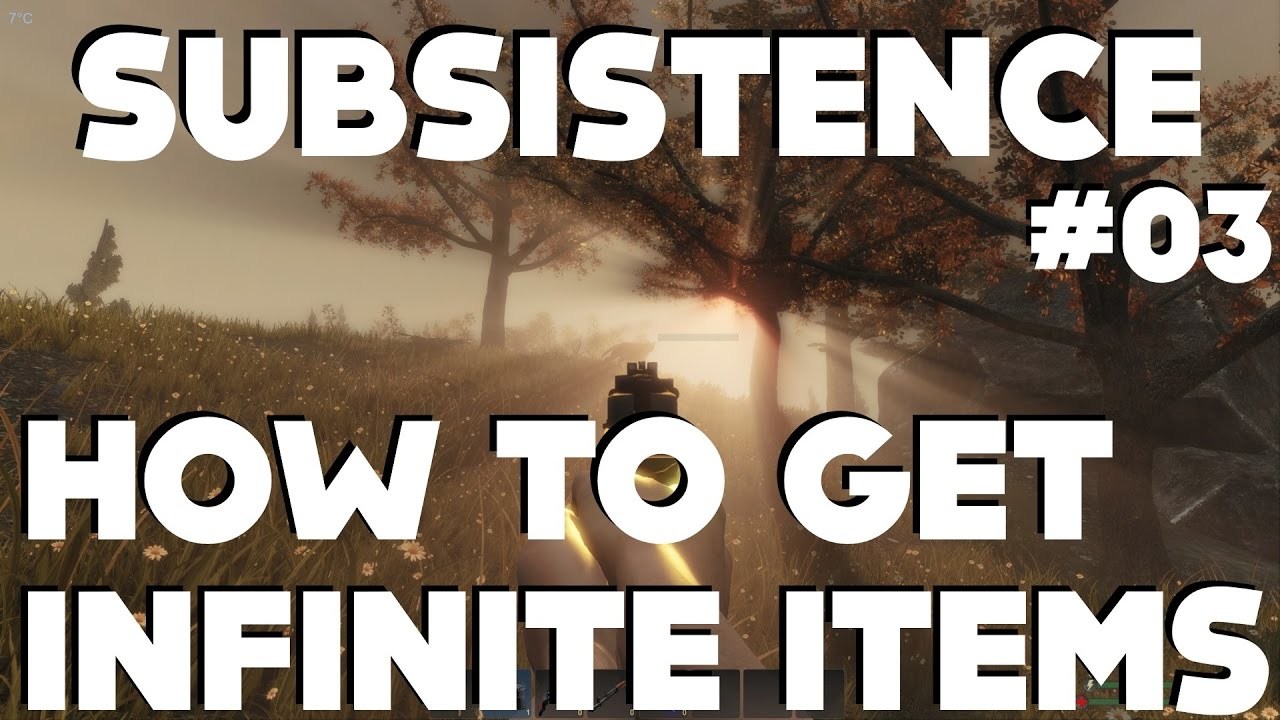 <b>Subsistence</b> Gameplay - HOW TO SPAWN INFINITE ITEMS!!! - YouTube